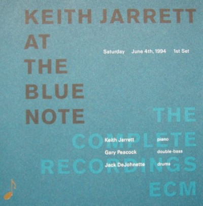Keith Jarrett, Gary Peacock, Jack DeJohnette ‎– Keith Jarrett At The Blue Note, Saturday, June 4th 1994, 1st Set (1994)