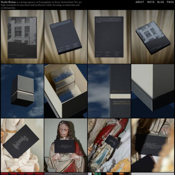 Studio Bureau – Graphic Design