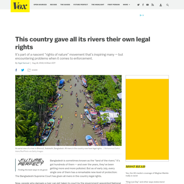 This country gave all its rivers their own legal rights