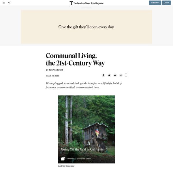 Communal Living, the 21st-Century Way