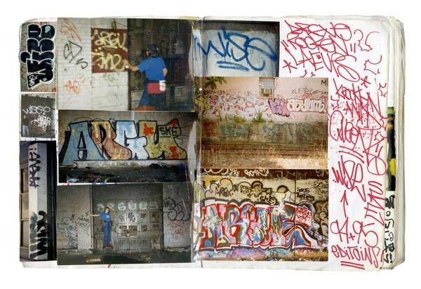 Argueske Graffiti Journal by Davide Sorrenti