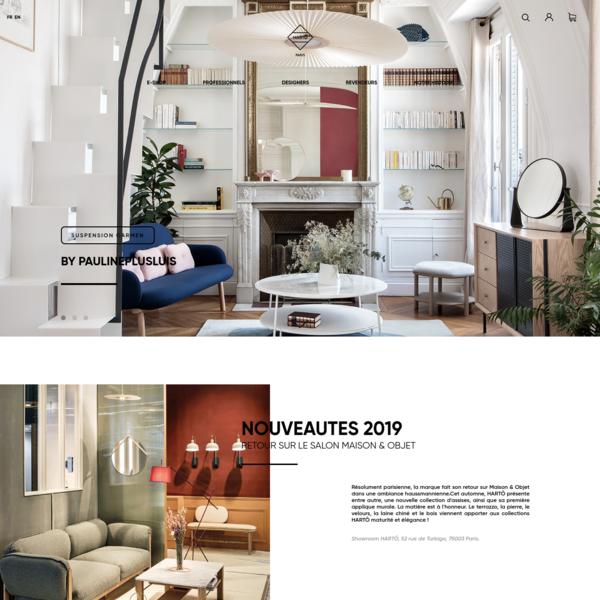 HARTÔ | Marque française de mobilier et d'objets de décoration singuliers, pour intérieurs audacieux.