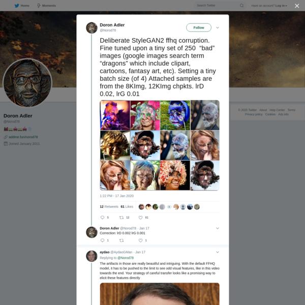 Doron Adler on Twitter