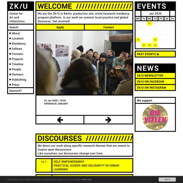ZK/U Berlin - Center for Art and Urbanistics