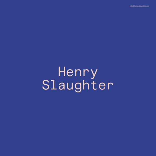 Henry Slaughter