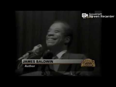 Excellent James Baldwin speech in Berkeley (1979)