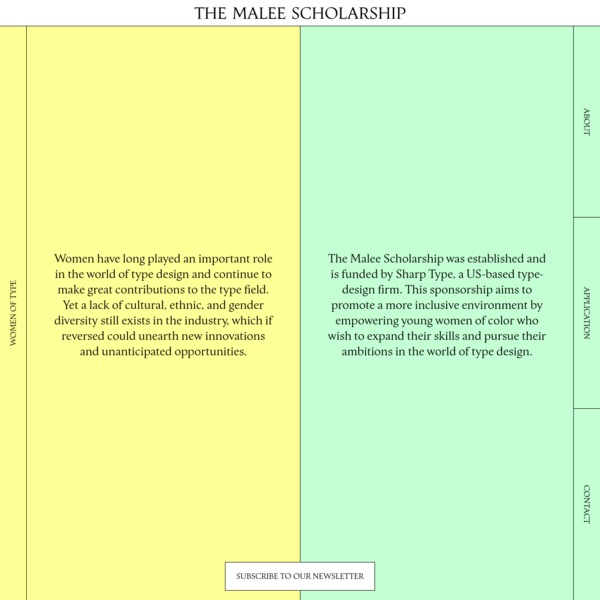 The Malee Scholarship