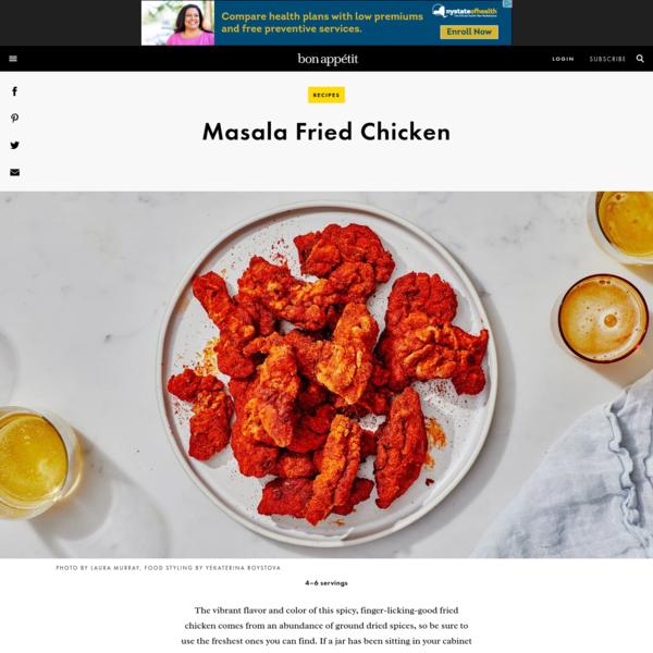 Masala Fried Chicken Recipe