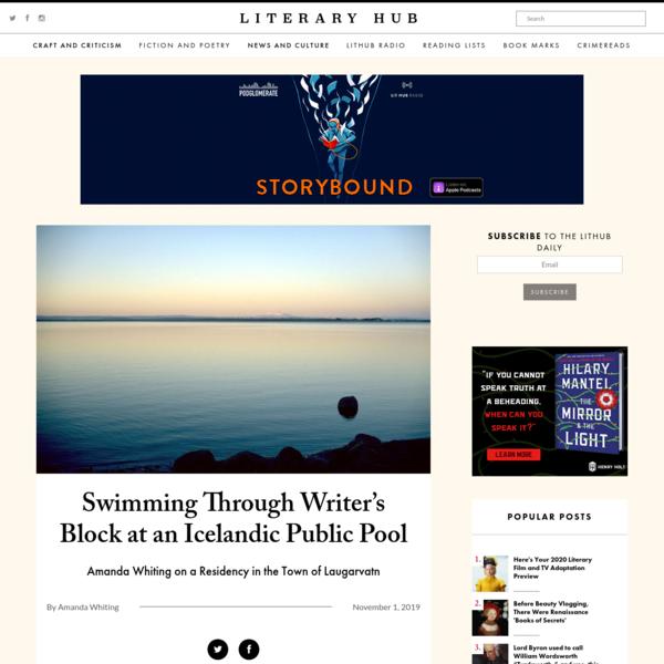 Swimming Through Writer's Block at an Icelandic Public Pool