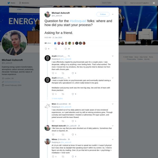 Michael Ashcroft on Twitter