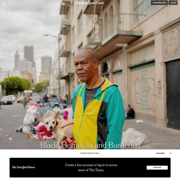 Black, Homeless and Burdened by L.A.'s Legacy of Racism