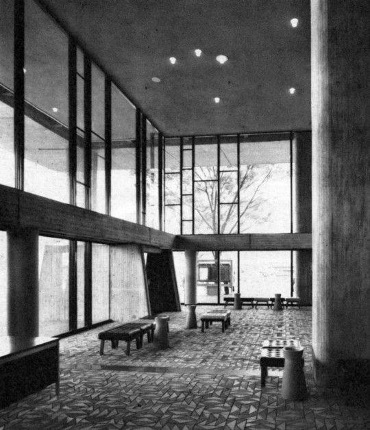 Tokyo Metropolitan Festival Hall - Kunio Maekawa