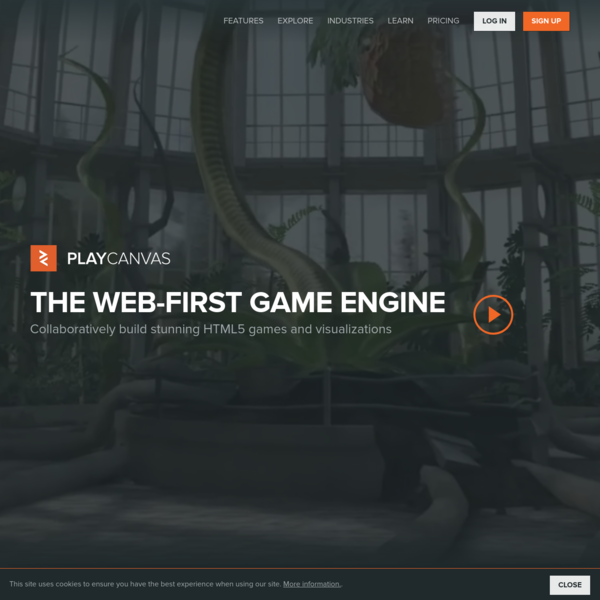 PlayCanvas - The Web-First Game Engine