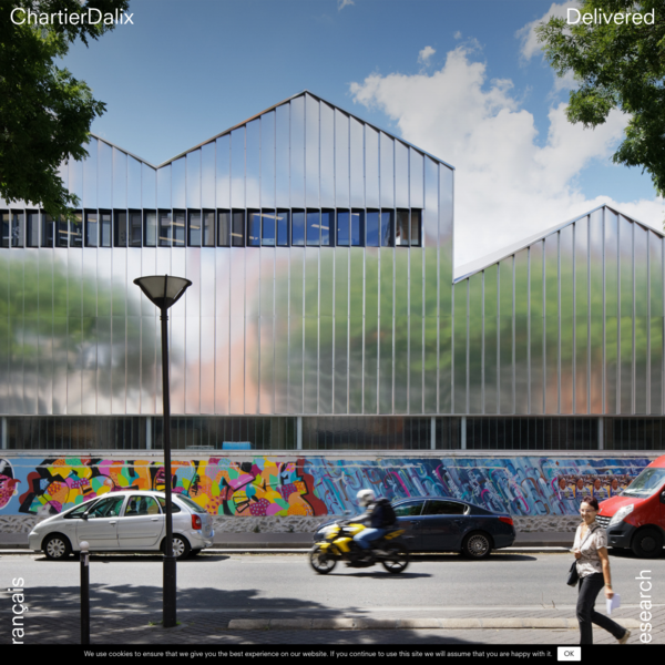 Tafanel Logistics Hub and Offices, Paris (19ᵉ) - Chartier Dalix