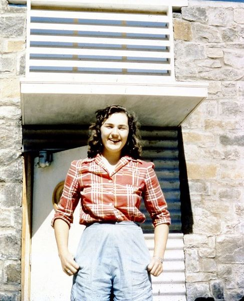 Nell Goldsmith came to Black Mountain College in 1942 when many male students and faculty were away at war, meaning that the student body was almost entirely female.