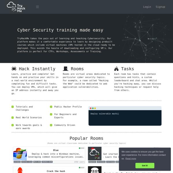 TryHackMe | Hacking Training