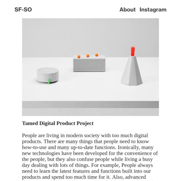 Tamed digital device * Intro - SFSO