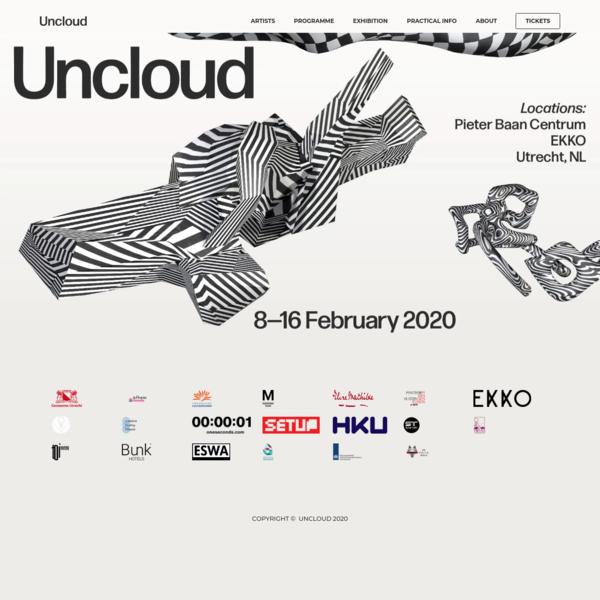 Uncloud 2020 / Welcome!