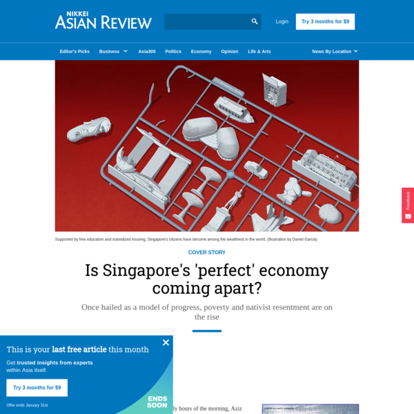 Is Singapore's 'perfect' economy coming apart?