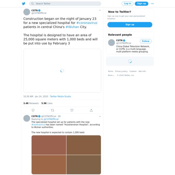 CGTN on Twitter