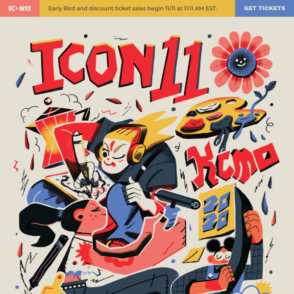 ICON11 | The Illustration Conference