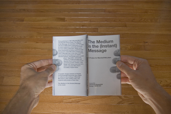 marshall mcluhan understanding media essay Mcluhan wrote a book titled the medium is the massage (ie, not message) which is a picture book expressing one of the main counter-culture themes of the sixties: mass media massages you into accepting advertising his text understanding media is an earlier, serious work that expresses the some of the same counter-culture themes in the chapter the medium is the message.