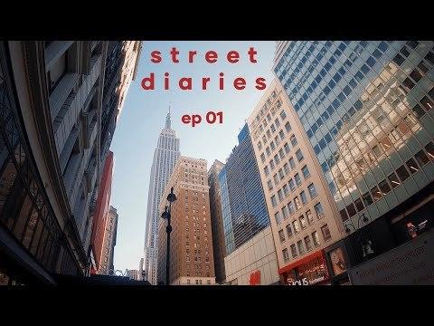 NYC Street Photography POV // Street Diaries ep. 01