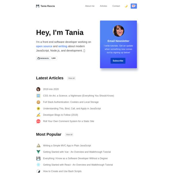 Tania Rascia