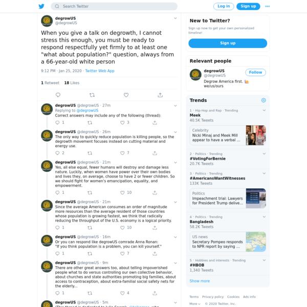 degrowUS on Twitter