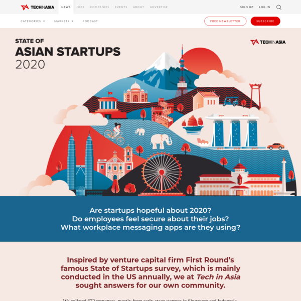 State of Asian startups 2020 - Tech in Asia
