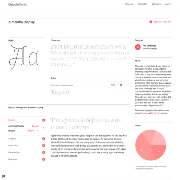 Google Fonts