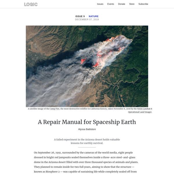 A Repair Manual for Spaceship Earth