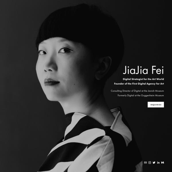 JiaJia Fei | Digital Strategist for the Art World