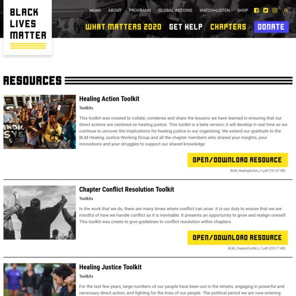 Resources Archive - Black Lives Matter