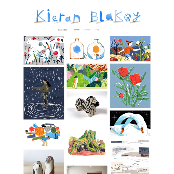 Kieran Blakey Illustration