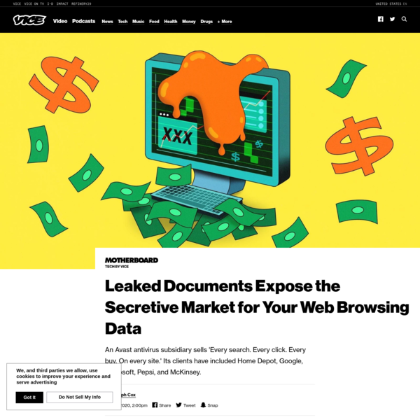 Leaked Documents Expose the Secretive Market for Your Web Browsing Data