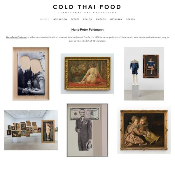Cold Thai Food