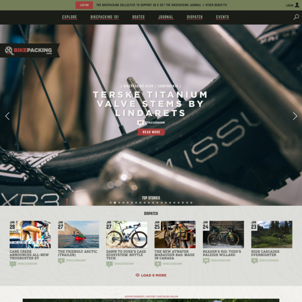 BIKEPACKING.com - Bikepacking Routes, Gear, Inspiration