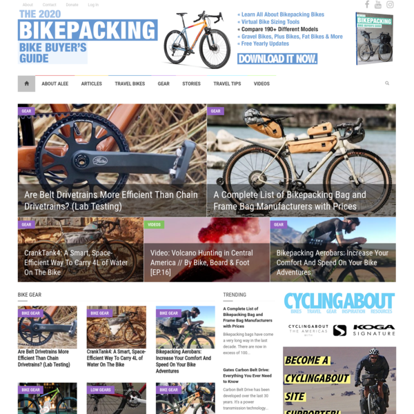 Bikepacking & Bicycle Touring Gear, Tech, News, Advice - CyclingAbout.com