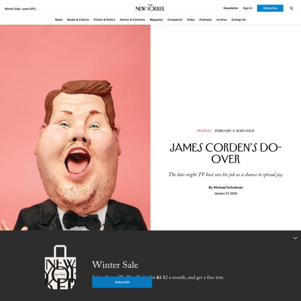 James Corden's Do-Over