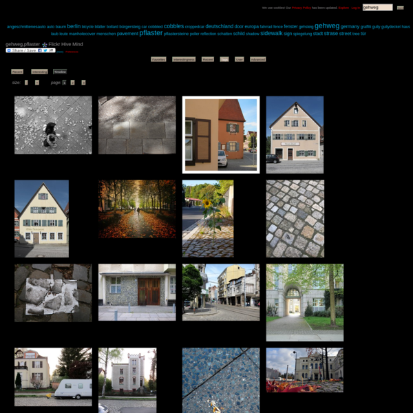 The World's newest photos of gehweg and pflaster - Flickr Hive Mind