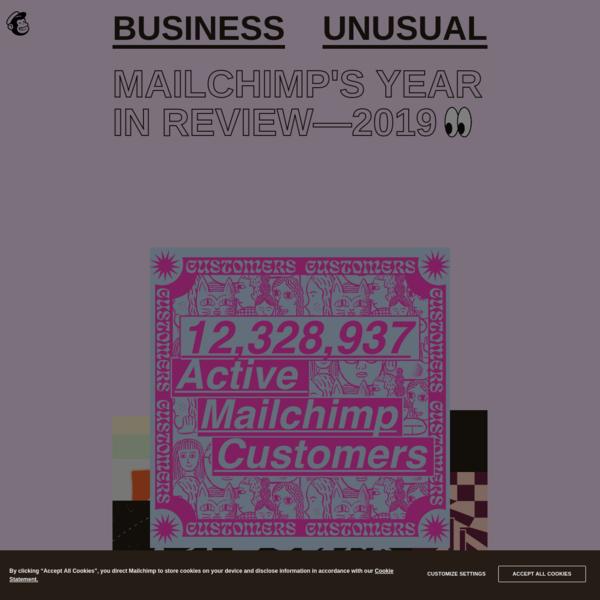 Mailchimp's 2019 Annual Report