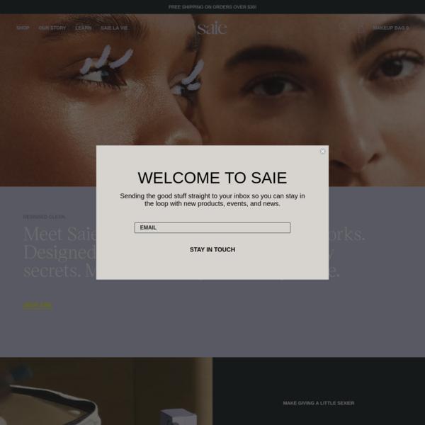 Saie | Clean Makeup You'll Love