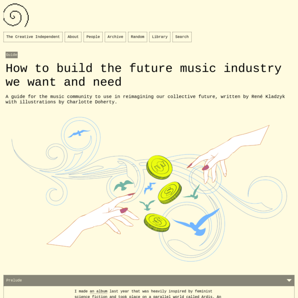 How to build the future music industry we want and need – The Creative Independent