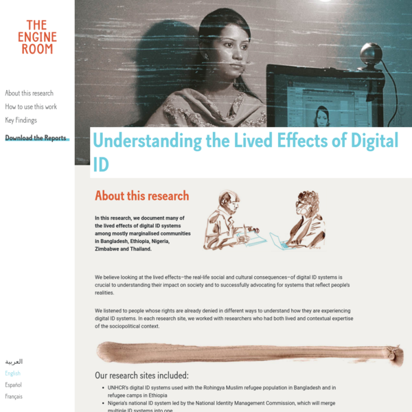 Understanding the Lived Effects of Digital ID