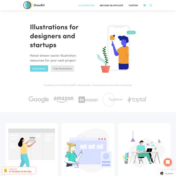 DrawKit - Beautiful free illustrations
