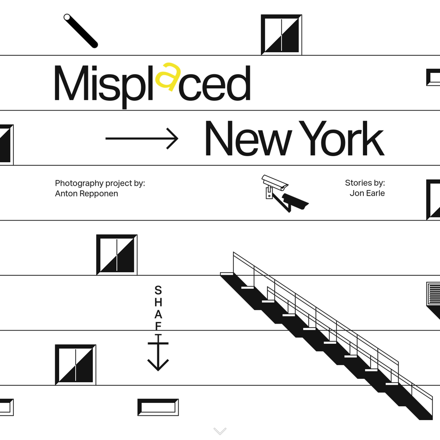 """The Misplaced Series removes notable New York buildings from their surroundings and """"misplaces"""" them in desolate landscapes around the world. Concrete behemoths and steel-and-glass towers rise from sand dunes and rocky cliffs, inviting viewers to see them as if for the first time. Out of context, architectural forms become more pronounced and easily understood."""