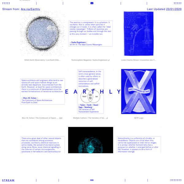 Earthly Stream / earthly.stream