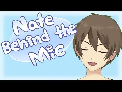 [VON ARCHIVE] Becoming a Vtuber? Live2D Testing   Nate Behind the Mic