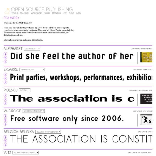 Open Source Publishing